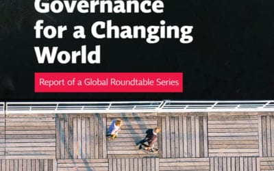 Creating Sustainable Companies Summit – Corporate Governance for a Changing World