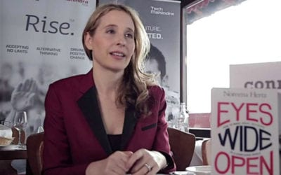 Meet Noreena Hertz – One of the most Iconoclastic female Leaders of our Time